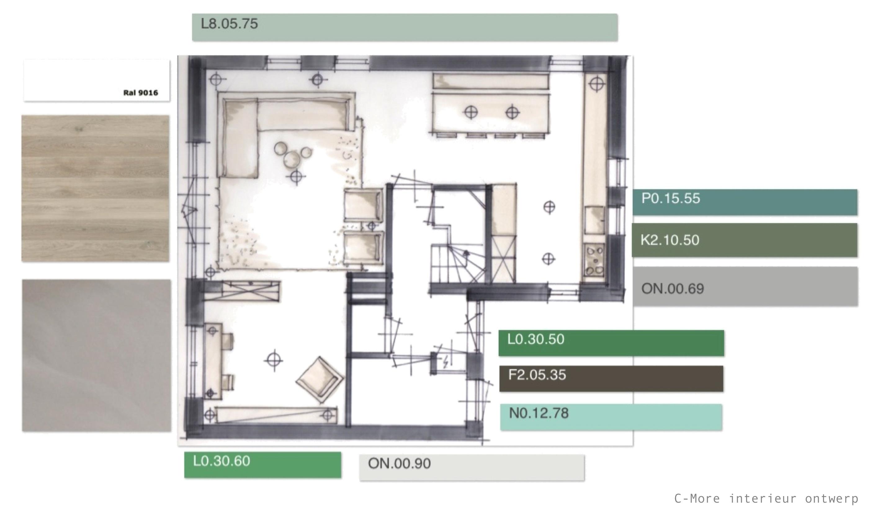 C-More interieur ontwerp | Workshops + Cursus Kleur en interieur